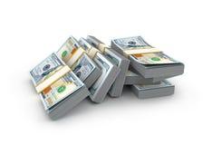 Affaires abstraites créatives, succès financier et argent c de fabrication illustration stock