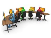 Affaires - accès d'Internet illustration de vecteur