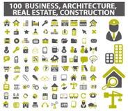 Affaires, art de vecteur d'icône d'architecture Photo stock