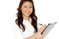 Affaires asiatiques Photo libre de droits