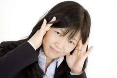 Affaires asiatiques Images stock