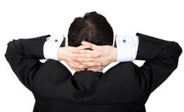 Affaires - aucuns soucis Image libre de droits
