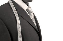 Affaires avec la mesure images stock
