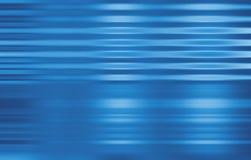 Affaires bleues dans le mouvement Images stock