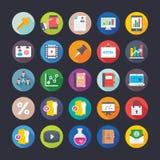 Affaires, bureau, travail d'équipe, gestion, croissance, icônes 13 de vecteur de finances Photographie stock libre de droits