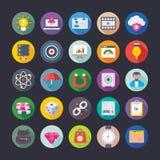 Affaires, bureau, travail d'équipe, gestion, croissance, icônes 11 de vecteur de finances Photographie stock libre de droits