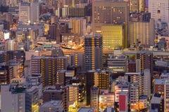 Affaires centrales de ville d'Osaka du centre photos libres de droits