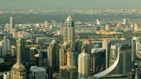 Affaires centrales de ville de Bangkok du centre Images stock