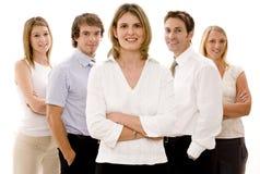 Affaires confiantes Image libre de droits