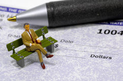 Affaires contrôlant 2 Images stock