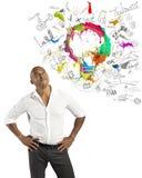Affaires créatives image libre de droits