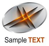 Affaires 3D de logo illustration libre de droits