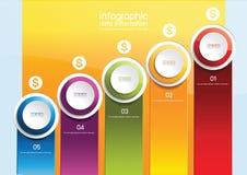 Affaires d'Infographics illustration libre de droits