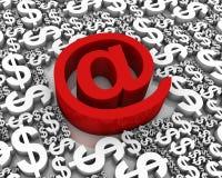 Affaires d'Internet Photo libre de droits