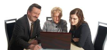 Affaires d'Internet Image libre de droits