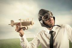 Affaires dans l'action Image libre de droits