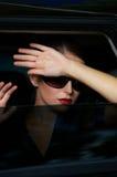 Affaires dans la limousine Image libre de droits
