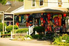 Affaires dans Woodstock photos stock