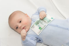 Affaires de bébé Photos stock