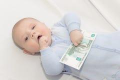 Affaires de bébé Photographie stock