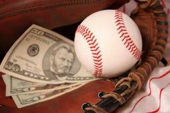 Affaires de base-ball Photos libres de droits