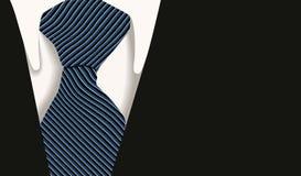 Affaires de chemise de relation étroite de collet illustration stock