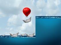 Affaires de concept pour l'avantage compétitif illustration de vecteur