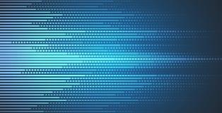 Affaires de fond de technologie et direction abstraites de développement Images libres de droits