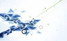 Affaires de fond de technologie et direction abstraites de développement Images stock
