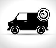 affaires de la prestation de service 24-7 grpahic Illustration Libre de Droits
