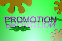 Affaires de logo, promotion Photo stock