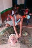 Affaires de musc en Inde Photo stock