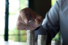 Affaires de pi?ce de monnaie de symbole, finances, croissance financi?re, investissement consultant, finances, investissement, af photos stock