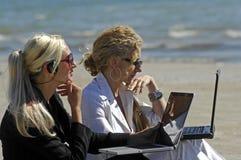 Affaires de plage Photographie stock libre de droits
