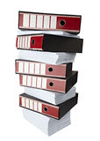 Affaires de registre de fichiers Images libres de droits