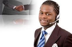Affaires de télécommunication image stock