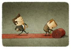 Affaires de tapis rouge Photo libre de droits