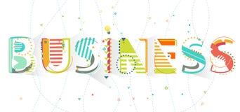 Affaires de typographie Image libre de droits