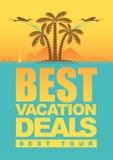 Affaires de vacances Photo stock