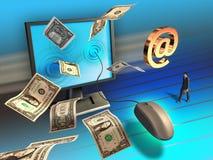 Affaires en ligne Images stock