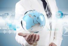 Affaires et concept d'Internet Images libres de droits