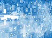 Affaires et développement abstraits de fond de technologie Image stock