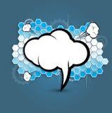 Affaires et développement abstraits de fond de technologie Images libres de droits