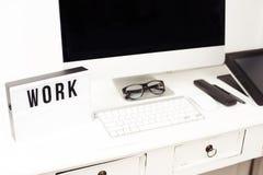 Affaires et espace de travail créatif Images stock