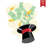 Affaires et finances Images libres de droits