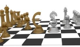 Affaires et stratégie d'argent Photos stock