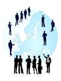 Affaires européennes Photos stock