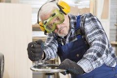 Affaires faites main à la petite usine de meubles Photographie stock libre de droits