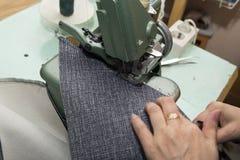 Affaires faites main à la petite usine de meubles Image libre de droits