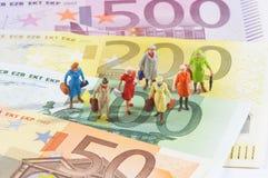 Affaires financières Photos libres de droits